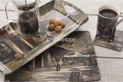 Поднос для сэндвичей Кафе Шоколатье 38х20см Creative Tops 5164306