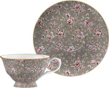 Чайная пара Дитси Грей Флорал, 450мл Creative Tops CU3745
