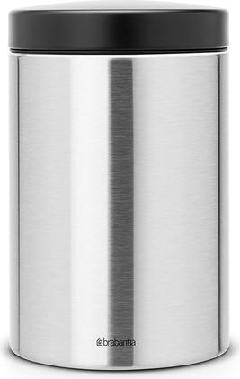 Контейнер для сыпучих продуктов 1.4л матовая сталь Brabantia 299209