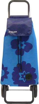 Сумка-тележка хозяйственная синяя Rolser RG MOUNTAIN MOU138azul