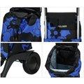 Сумка-тележка хозяйственная компактная синяя с чёрным Rolser JOY-1800 BABY BAB002azul/negro