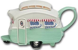 """Чайник заварочный """"Семейное путешествие"""" (фургон с двумя окнами) The Teapottery 4464"""