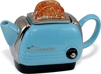 """Чайник заварочный """"Тостер"""" (с надписью TeaToaster) мини The Teapottery 4463"""