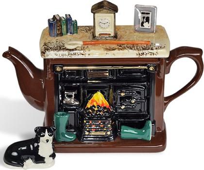 "Чайник коллекционный ""Вечер у камина"" (Yorkshire Range Teapot) The Teapottery 4469"