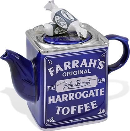"""Чайник коллекционный """"Чайные сладости"""" (Farrah's Harrogate Toffee Tin Teapot) The Teapottery 4424"""