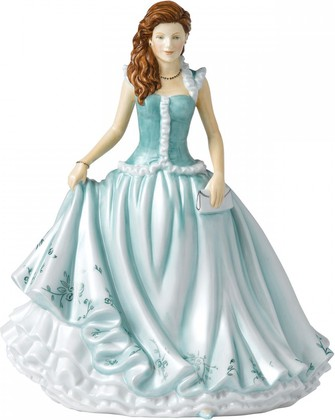 Статуэтка Карен в бирюзовом 22см Royal Doulton HNFISC26546