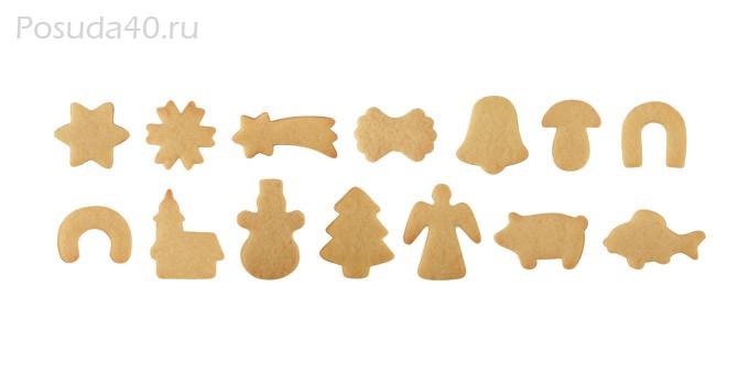Форма для печенья своими руками из картона