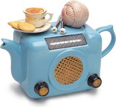 "Чайник коллекционный ""Ретро-радио"" (Radio Teapot) The Teapottery 4450"