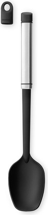 Ложка поварская, матовая сталь / чёрный Brabantia Accent 463808
