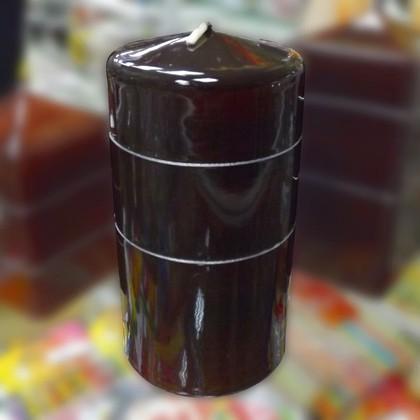 "Свеча ""Венге"", колонна 7х14см Bartek Candles 234012"