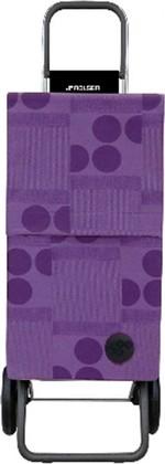 Сумка-тележка хозяйственная фиолетовая Rolser RG PARIS PAR014malva