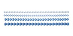 Силиконовые формочки, бордюр с бусинами Tescoma DELICIA DECO 633044
