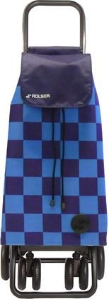 Сумка-тележка хозяйственная PAC078 синяя LOGIC TOUR Rolser PAC078azul