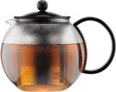 Чайник заварочный c прессом 1л, черный, Bodum Assam 1805-01