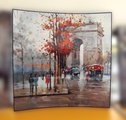 Картина Осень в Париже 58x58см, пара Top Art Studio WDP0265-TA