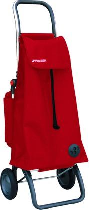 Сумка-тележка хозяйственная красная Rolser LOGIC RG PAC031rojo