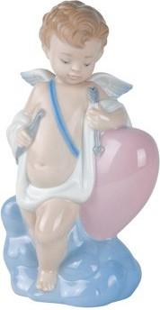 Статуэтка фарфоровая Купидон (Cupid) 16см NAO 02001436