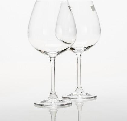 Фужеры для красного вина Набор XXL 650мл, 2 шт Crystalite Bohemia 4S032/650/XXLх2