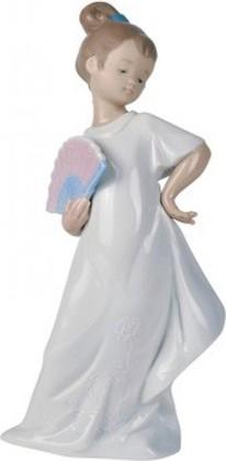 Статуэтка фарфоровая Маленькая леди (I Am Pretty!) 21см NAO 02001455