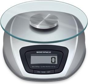 Весы кухонные электронные 3кг/1гр Soehnle Siena 65840