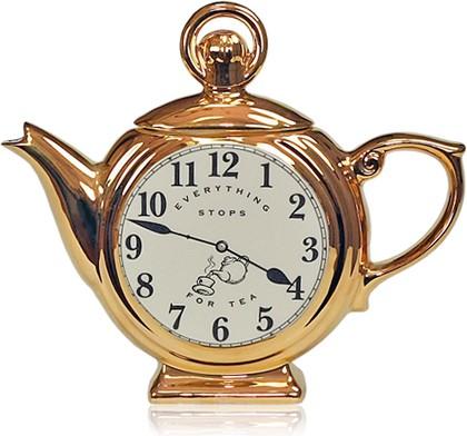 """Чайник коллекционный """"Время пить чай"""" (Pocket Watch Teapot) The Teapottery 4447"""