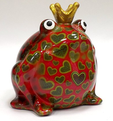 Копилка Царевна лягушка FREDDY розовая Pomme-Pidou 148-00003/2