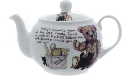 """Чайник на 6 чашек """"Забытый мишка"""" Roy Kirkham XLOS1223"""
