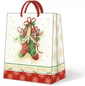 Пакет подарочный Чулки с сюрпризом 26.5х13х33.5 см Paw AGB007305