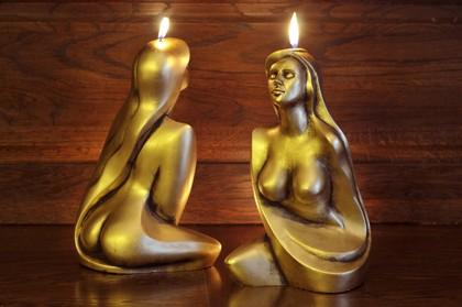 "Bartek Candles WENUS Свеча ""Ева"", фигурка 300мм, артикул 5907602671490"