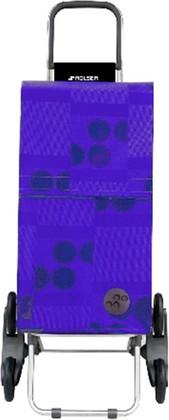 Сумка-тележка хозяйственная синяя Rolser RD6 PARIS PAR026azul