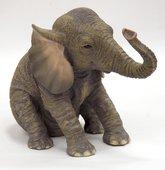 Статуэтка Слонёнок сидящий, 10.6см Widdop Bingham WS0836-TA