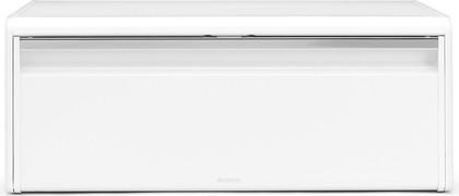 Хлебница из белой стали с крышкой Brabantia 198625
