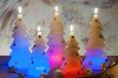 Свеча Ёлочка(светодиодная) 21см Bartek Candles 5907602665888