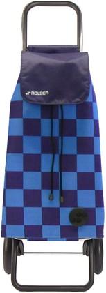 Сумка-тележка хозяйственная PAC076 синяя LOGIC RG Rolser PAC076azul
