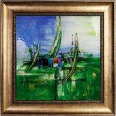 Картина стеклянная Наутика 50x50см Top Art Studio LG1228-TA