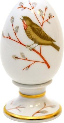 Яйцо пасхальное на подставке Весенняя песня, ф. Нева ИФЗ 80.65669.00.1