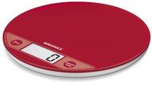 Весы электронные кухонные круглые красные 5кг/1гр Soehnle Flip Red 66184