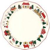 Тарелка 27см Рождественская деревенька Masons 56533401006