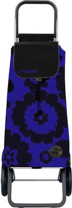 Сумка-тележка хозяйственная сине-чёрная Rolser LOGIC RG PAC012azul/negro