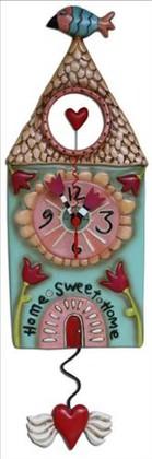 """Настенные часы """"Уютный дом"""" (Home Sweet), 31см Enesco P9086"""