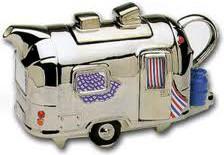 "Чайник коллекционный ""Дом на колесах"" (Airstream Teapot) The Teapottery 4471"