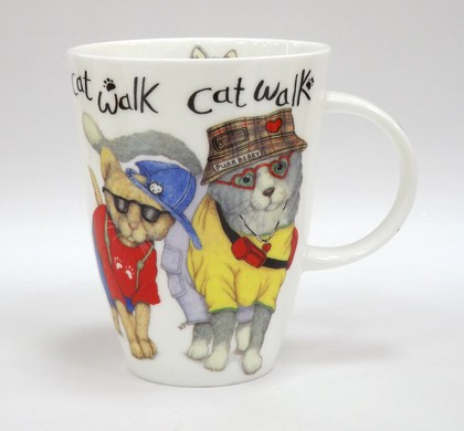 Кружка Коты модники, Луиза, 400мл Roy Kirkham XANICAT1035