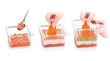 Формочки для придания блюдам формы, квадраты, 3шт. Tescoma FoodStyle 422212