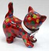 Копилка Кошка KITTY красная в горох Pomme-Pidou 148-00021/2