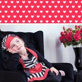 """Детский фартук и колпак поварёнка """"Сердечки"""" Vigar Lulu 5230"""