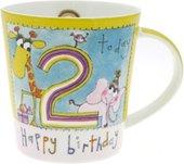 """Кружка """"С Днем Рождения 2 года"""" Rachel Ellen The Leonardo Collection LP32839"""