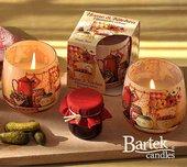 """Свеча """"Домашний уют"""" стакан 8х7м Bartek Candles 114061"""