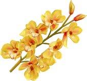 """Цветок искусственный """"Орхидея Цимбидиум"""", 8 цветков и 2 бутон а, 87см Floralsilk 11421GR"""