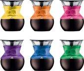 Кофейник с фильтром 0.5л, цвет в ассортименте Bodum POUR OVER A11592-XYB-Y15