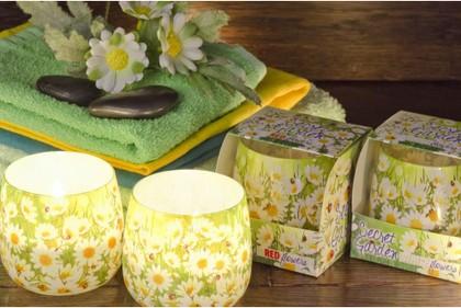 """Свеча """"Таинственный сад"""", стакан, 8х7см Bartek Candles 184061"""
